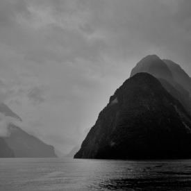 ©chris bone - milford sound bw