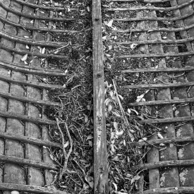 ©chris bone - old boat moeraki 2 bw