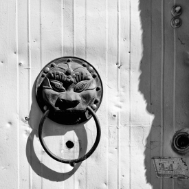 ©chris bone - knock knock