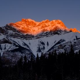 ©chris bone - alpenglow banff
