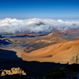 ©chris bone - haleakala crater - afternoon light
