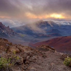 ©chris bone - haleakala sunrise