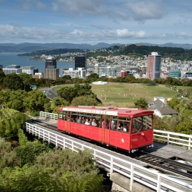 ©chris bone - wellington cable car
