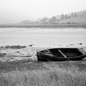 ©chris bone - carbost boat isle of skye