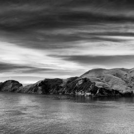 ©chris bone - queen charlotte sound bw