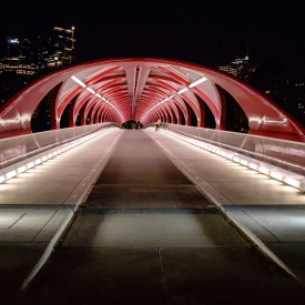 ©chris bone - peace bridge