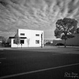 ©chris bone - white building